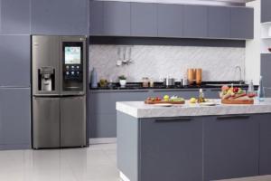 LG's ThinQ AI Instaview refrigerator
