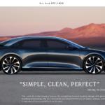 LG Chem Becomes Sole Battery Supplier of EV Maker Lucid Motors