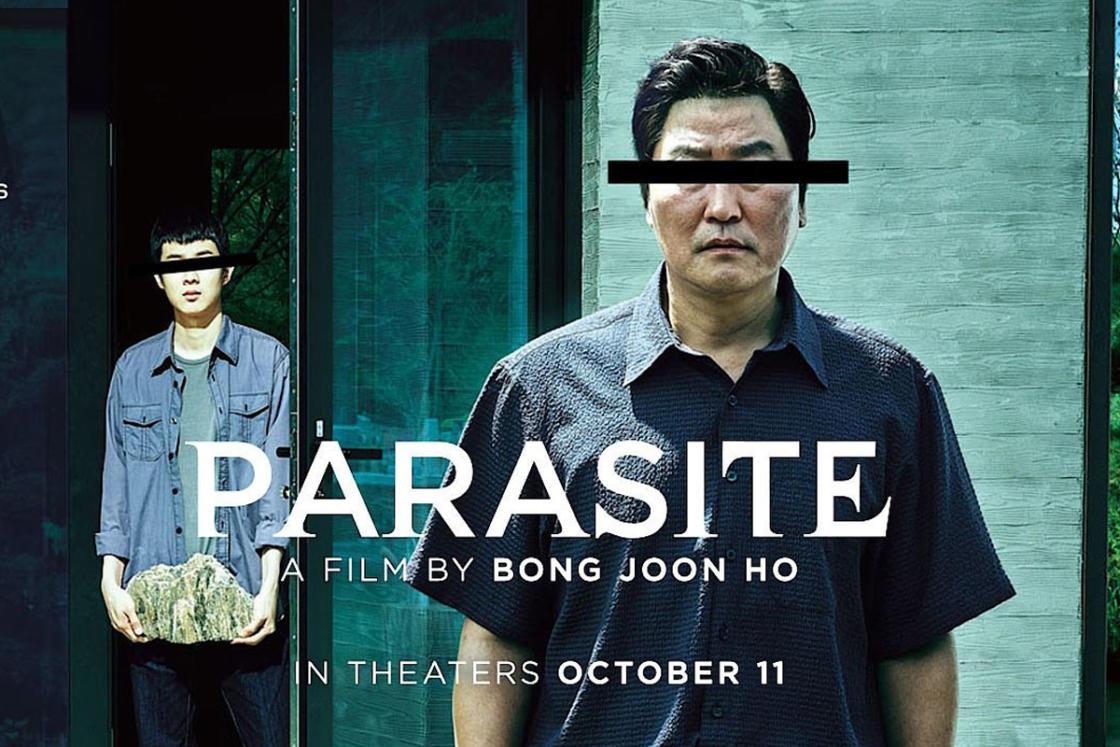 Bong Joon Ho's Parasite movie poster.
