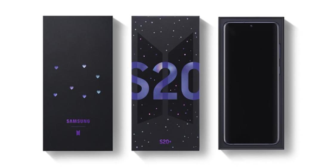 Samsung Galaxy S20 BTS Edition / photo courtesy of Samsung Electronics