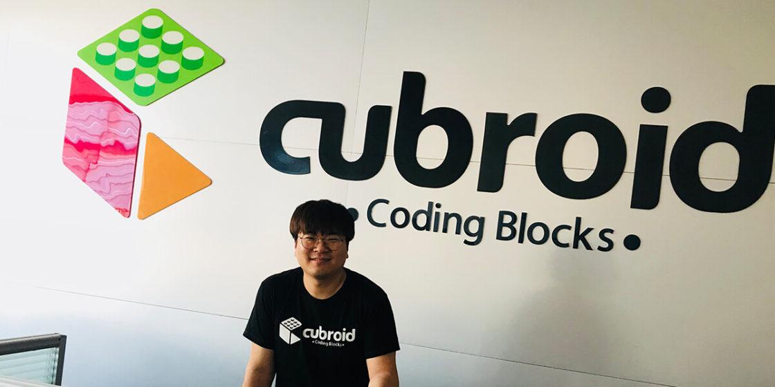 CUBROID CEO Mark Shin (CUBROID)