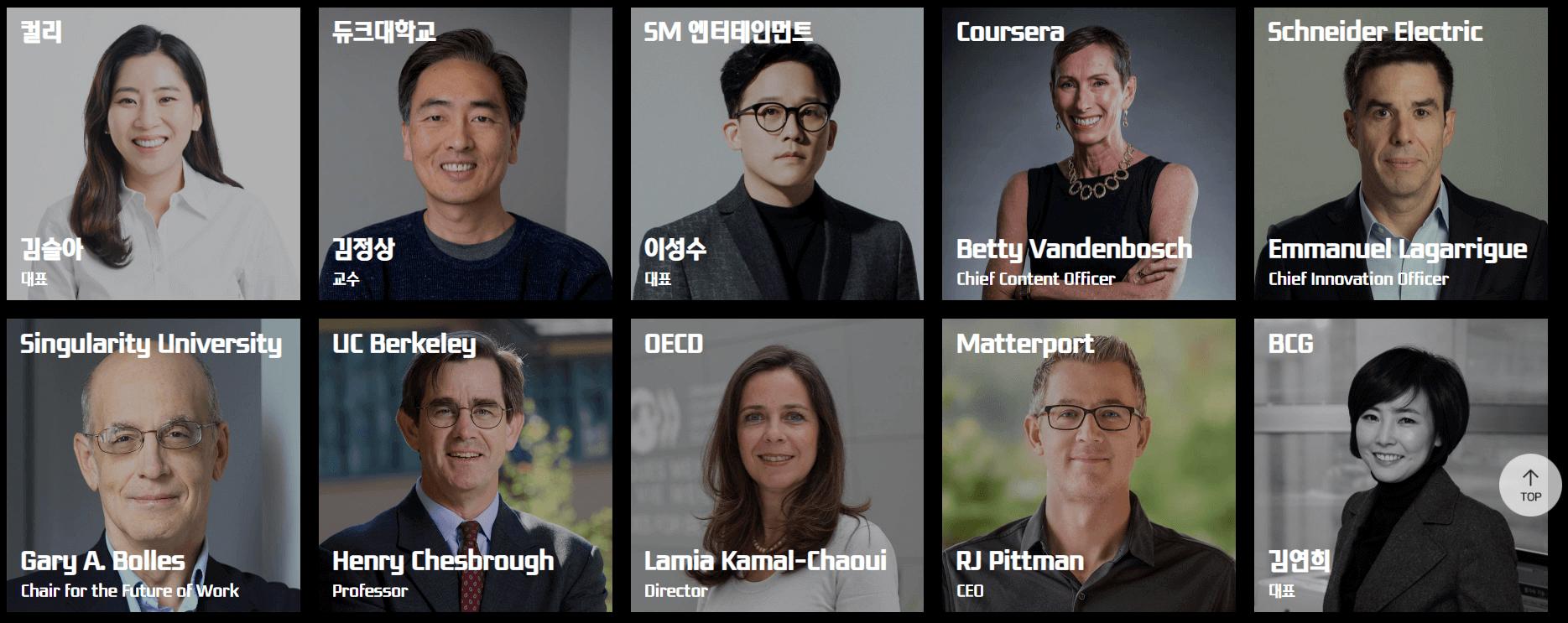 Keynote speakers for COMEUP 2020