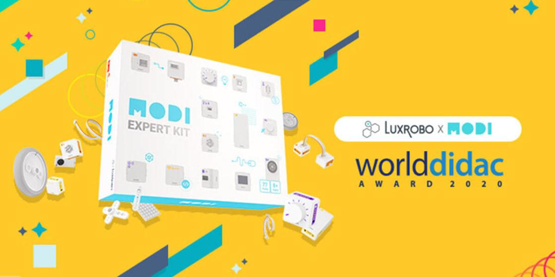 LUXROBO's MODI wins Worlddidac Award 2020 (LUXROBO)