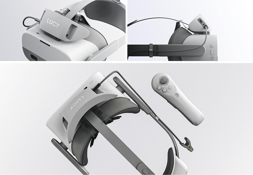 Looxid Labs' LUCY VR headset (Looxid Labs)