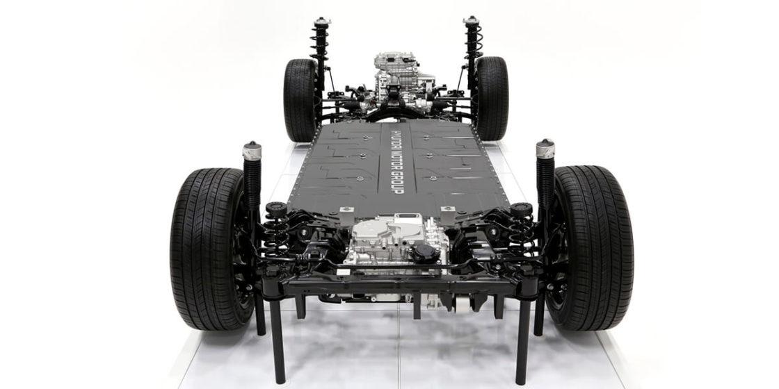 Hyundai Motor's new Electric-Global Modular Platform (E-GMP). (Hyundai Motor)