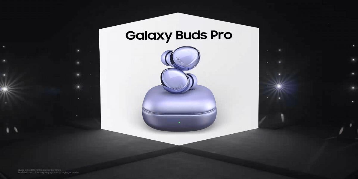 Samsung Galaxy Buds Pro 2021. (Samsung Electronics)