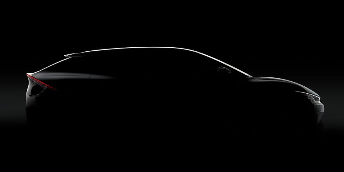 Kia's teaser image of its first dedicated battery electric vehicle EV6. (Kia Corporation)