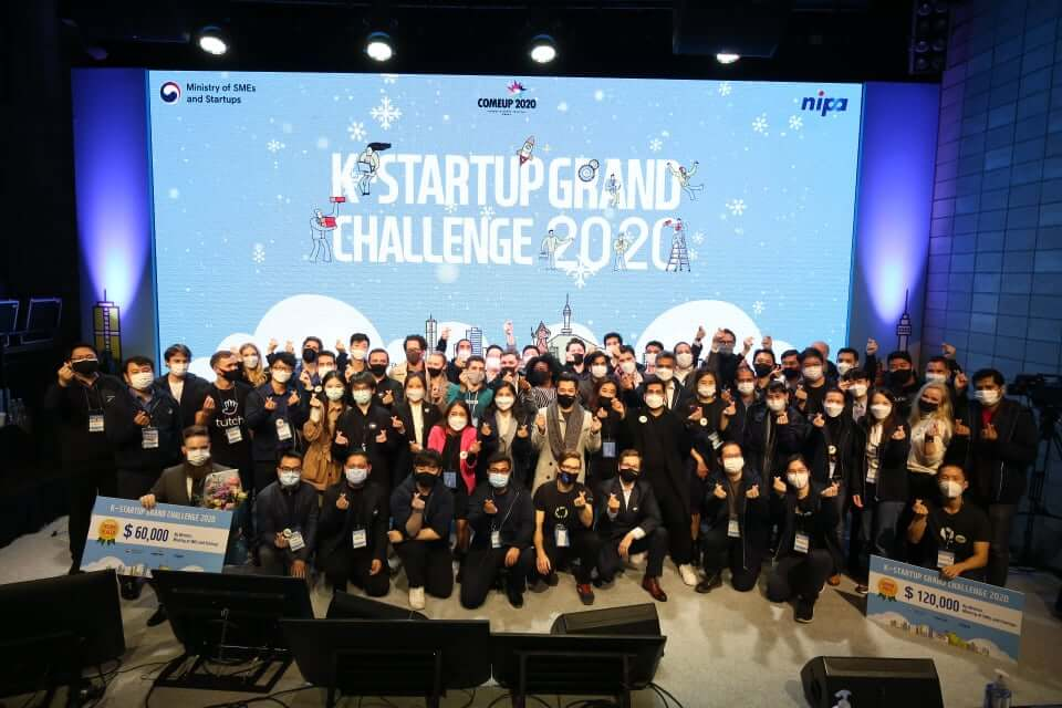 Last year's K-Startup Challenge 2020 (KSGC 2020) with 2,648 teams applying from 118 countries.
