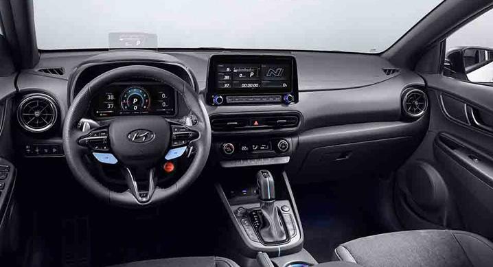 Hyundai Kona N dashboard