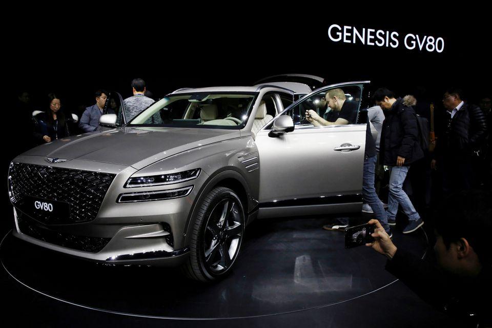 Hyundai Motor's luxury flagship model Genesis GV80. (Hyundai Motor)